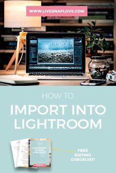 Lightroom Tutorial | Lightroom Beginners | How to Use Lightroom | Free Lightroom Workflow Checklist
