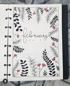 47 Bullet Journal Weekly Spreads & Layouts – February 2019 – Spunkyy - New Sites Bullet Journal Weekly Spread Layout, February Bullet Journal, Bullet Journal Aesthetic, Bullet Journal Notebook, Bullet Journal Ideas Pages, Journal Diary, Bellet Journal, Journal Themes, Journal Inspiration