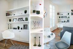 Grand salon blanc