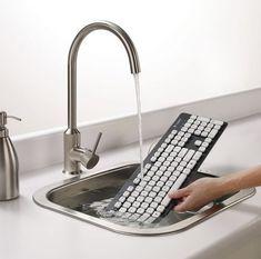 Tu teclado podría lavarse. | 19 Mejoras a los productos que utilizas a diario