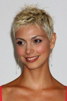 Bildergebnis für short grey hair