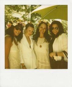 Erica Chan Coffman, Geri Hirsch, Laruen Kolodny, and Erin Falconer at Kanon Midsummer 2k11 in LA