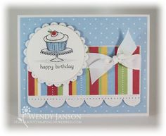 "Great card from ""It's All About Stamping"""