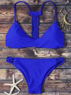 $11.20 Hollow Out Padded Low Waisted Bikini