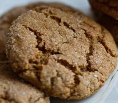 molasses-ginger-cookies-vegan
