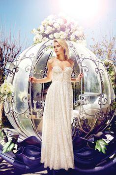 Which Disney Princess Wedding Gown Should You Get Married In? Disney Wedding Dresses, Cinderella Wedding, Princess Wedding, Wedding Gowns, Disney Weddings, Cinderella Coach, Wedding Disney, Cinderella Carriage, Fairytale Weddings