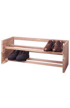 Allen Edmonds Cedar Shoe Rack | Nordstrom $29.95 My fiancé has more shoes than I do...
