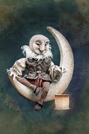 """Owl Poet"" by Scott Smith. Photo Courtesy of: Rucus Studio/Scott Smith. Halloween Art, Vintage Halloween, Halloween Stuff, Halloween Pumpkins, Happy Halloween, Fantasy Kunst, Fantasy Art, Clowns, Scott Smith"