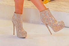 "Rhinestone 6"" ankle boots! DIES!"