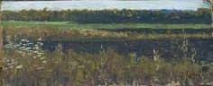 Осенняя пашня к/м 18х26см 1965-66г., автор Александр Тимофеевич Черныш. Артклуб Gallerix