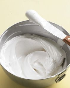 Lots of yummy frosting recipes