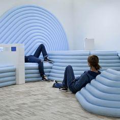 La nuova sala 'per adolescenti' del Centre Pompidou disegnata da Mathieu Lehanneur