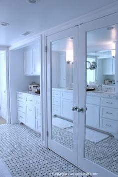 classic • casual • home mirrored closet doors