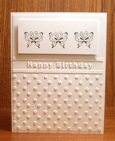 My Stamping Addiction: Flutter By Wednesday - White on White