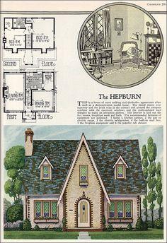 1927 Hepburn by William A. Radford   by American Vintage Home