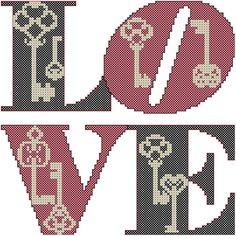 Excited to share this item from my shop: Vintage Keys Cross Stitch Pattern, Love Cross Stitch Pattern, Love Vintage Keys Cross Stitch, Modern Cross Stitch Pattern Wedding Cross Stitch Patterns, Modern Cross Stitch Patterns, Counted Cross Stitch Patterns, Cross Stitch Designs, Cross Stitch Embroidery, Cross Stitch Tree, Cross Stitch Heart, Love Vintage, Vintage Keys