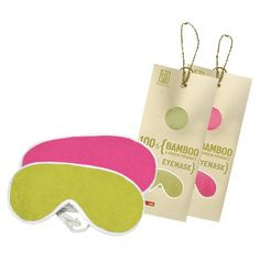 100 % BAMBOO EYE MASKS