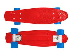 "Zycle Fix Mayhem 22"" Penny Style Skateboard (Red/Blue)"