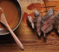 A steak sauce good enough to rival the most popular brand makes this steak (or any, really) even more delicious.