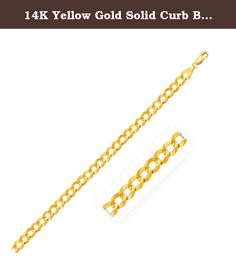 14K Yellow Gold Solid Curb Bracelet 8.2mm Ladies best choice,Simulated. 14K Yellow Gold Solid Curb Bracelet 8.2mm Ladies best choice Why Us: We our dedicated to provide Amazon customers with excellent service and good quality products. Our mission statement is to bring only the most stylistic Ladies Jewelry with extreme protection to the market. We pride ourselves in offering only the highest in quality so please order with confidence: Being an authorized seller with thousands of…
