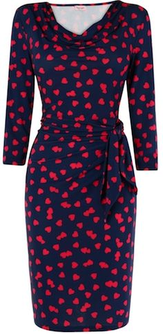 Hearts Dress by Phase Eight - Coming Very Soon. Perfect Valentine's Day Outfit
