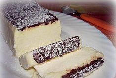 Parfeu de Cocos cu Ciocolata Ingrediente ● 3 galbenusuri ● 200 gr zahar ● ½ l lapte ● 200 g de cocos ras dezhidratat ● 250 ml frisca lichida ●