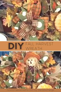 Looking for a simple fall wreath project? Learn how to make a beautiful DIY autumn wreath for your front door decor! Autumn Wreaths For Front Door, Diy Fall Wreath, Fall Wreaths, Make Your Own Wreath, Wreath Making, How To Make Wreaths, Diy Autumn, Wreath Tutorial, Diy Door