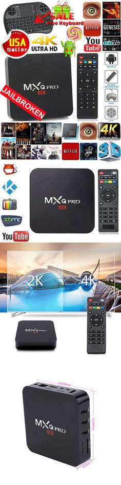 Cable TV Boxes: Mx_Q Pro 4K S905x Smart Tv Box Quad Core Android 6.0 Hdmi 8Gb Wifi Keyboard Bb -> BUY IT NOW ONLY: $39.95 on eBay!
