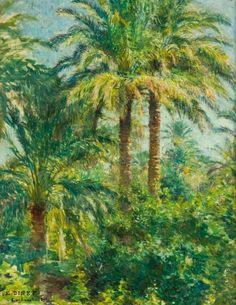 Étienne Dinet - Palmeraie de Laghouat