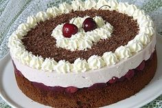 Kardinalstorte, a tasty recipe from the category pies. Baby Food Recipes, Low Carb Recipes, Cake Recipes, Dessert Recipes, Desserts, Appetizer Recipes, Bolo Red Velvet, Low Carb Meatloaf, Keto Chocolate Cake