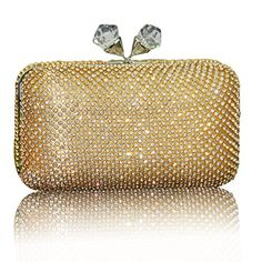 Ashlen Womens Elegant Clutch Evening Bling Bling Rhinestone Crystal Clutch Bags >>> Be sure to check out this awesome product.