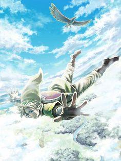 The Legend of Zelda Skyward Sword Link diving