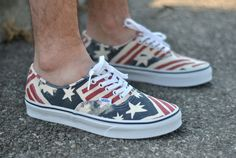 Vans Authentic Van Doren Retro Flag