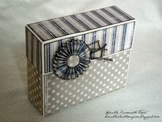 Make a stationery box to hold supplies for writing letters to friends or jotting down thoughts for your own stories