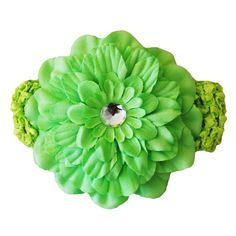Silky Gerbera Flower with 7 layers and fake crystal in the centre. Flower is 4 inches in size and is on an alligator clip Gerbera Flower, Flowers, Kids Store, Girl Hairstyles, Peonies, Hair Clips, Infant, Hair Accessories, Green