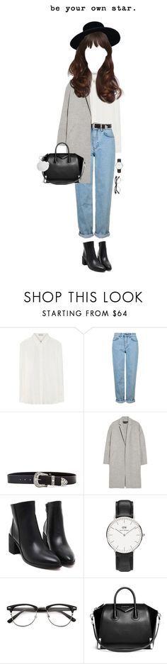 """154 ♡"" by cutefatboy ❤ liked on Polyvore featuring Yves Saint Laurent, Topshop, B-Low the Belt, Rochas, Daniel Wellington, Givenchy and MICHAEL Michael Kors"