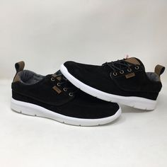 66981d100b5b19 VANS AUTHENTIC BRIGATA LITE BLACK SNEAKERS MEN S SIZE 8.5 WOMEN S SIZE 10.0  NWOB  fashion  clothing  shoes  accessories  unisexclothingshoesaccs ...