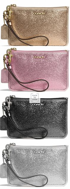 LOVE these Coach wristlets!  Perfect addition to any holiday outfit!  http://rstyle.me/n/dn6e7nyg6