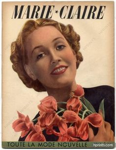 Marie Claire Magazine Cover 1938