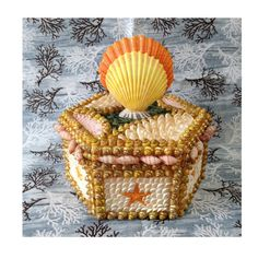 Seashell Box Scallops by TheMermaidsBox on Etsy