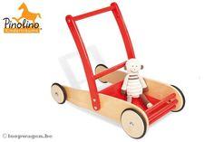 Pinolino Adventure rood - Loopwagens - Altijd de laagste prijs bij Loopwagen.be!