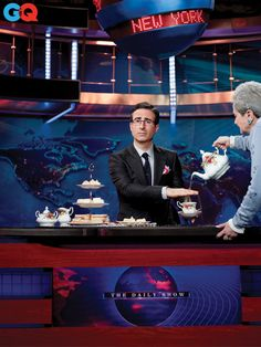 The Daily Show with John Oliver (via GQ)