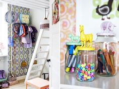 Barnerommet er et sted hvor smårollingene regjerer. Men det betyr ikke at det må være kaos der! Her er 6 gode oppbevaringsløsninger!