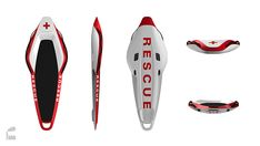 ResQ by stilform - design - Theme - Futuristic Firefighter Products - practical Emergency First Response, Future Systems, Water Rescue, Lifebuoy, Futuristic Cars, Safety And Security, Lifeguard, Kayak Fishing, Cool Gadgets
