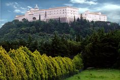 The Benedictine Abbey of Montecassino, Cassino (FR).