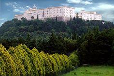 The Benedictine Abbey of Montecassino, Cassino (FR).