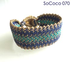 SoCoco - Life and Travel with a Capital Style Macrame Bracelets, Unique, Handmade, Jewelry, Style, Fashion, Hand Made, Jewlery, Moda