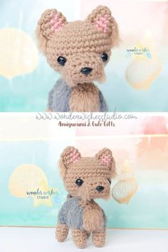 Custom made dog plushies available in Wonder Wishes Studio�s Etsy shop. These dog stuffed animals are handmade and can be personalized for gifting for dog moms and dog owners. Click to see more gift ideas for a dog lover and pet owner #plushies #dogmoms #