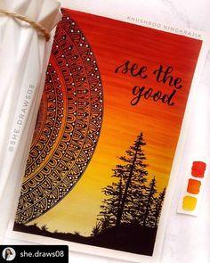 Mandala Book, Mandala Canvas, Mandala Artwork, Mandala Painting, Mandala Drawing, Mandala Art Therapy, Mandala Art Lesson, Cute Doodle Art, Doodle Art Designs