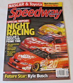 Dick Berggren's Speedway Illustrated Magazine NASCAR & Toyota October 2003  #SpeedwayIllustrated